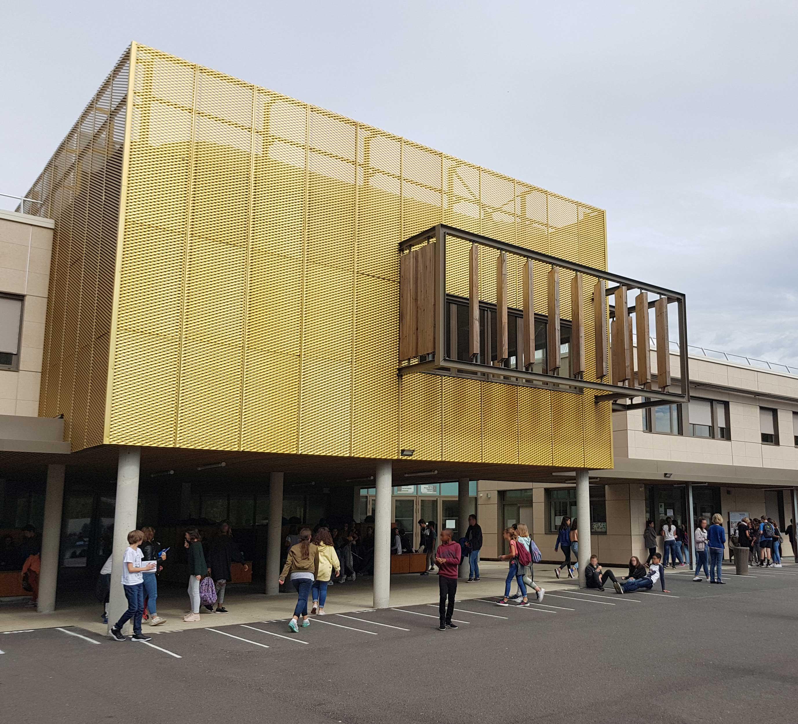 Restructuration Collège Mauguin -  Gradignan