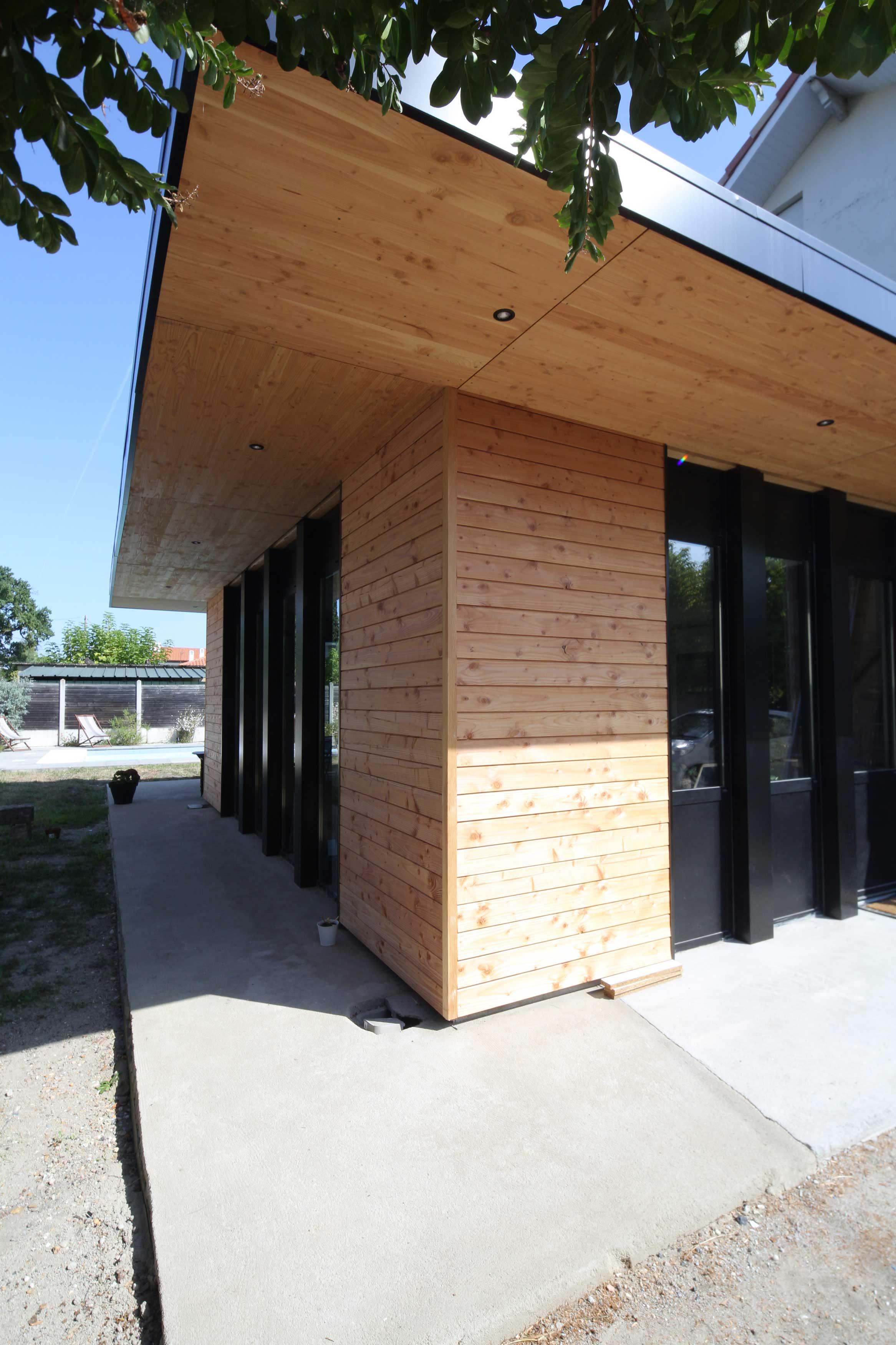 Extension d'une cuisine - Maison individuelle – BORDEAUX